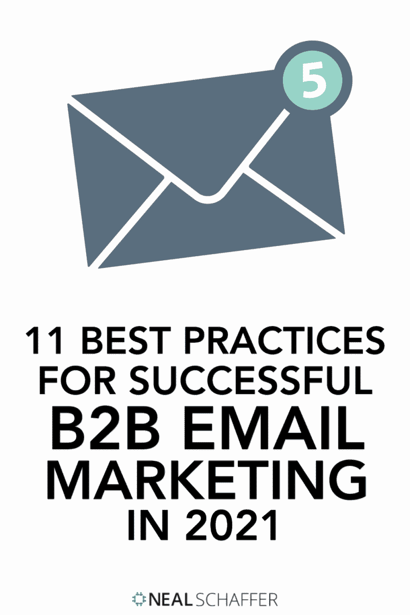Here are the 11 best practices that you MUST follow to be successful with your B2B email marketing, including advice on CTA, sending timing,