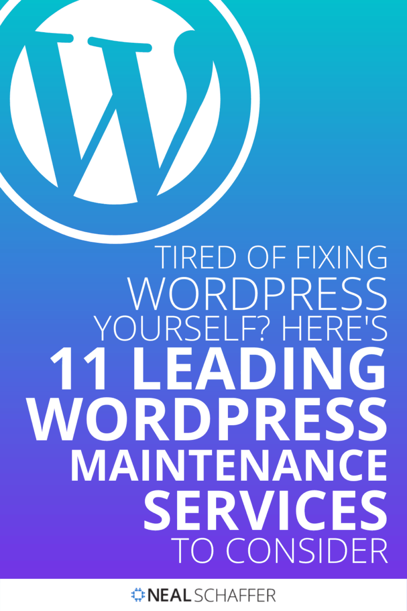 If you're on the sidelines about WordPress maintenance services, I'll explain what services they provide as well as 11 companies I recommend.