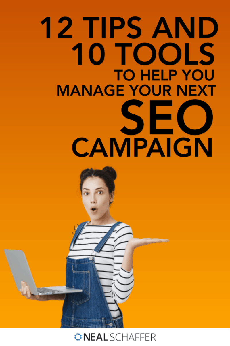 Learn how to effectively organize and manage your SEO campaign for success through these 12 tips and 10 tools!
