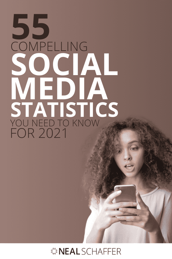 These 55 social media marketing statistics prove the importance that social media should have in your marketing strategy in 2021.