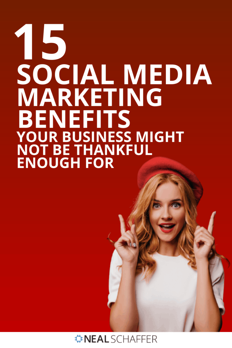 There are so many reasons why businesses should have a robust presence on social media. Here are 15 social media marketing benefits to ponder.