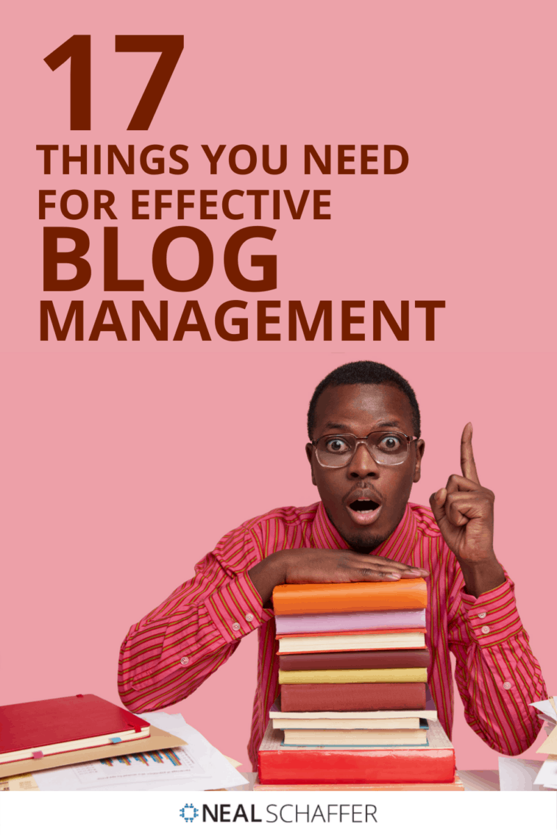 A successful blog is not just about publishing lots of content. Proper blog management is more important than you think. Here are 17 tips.