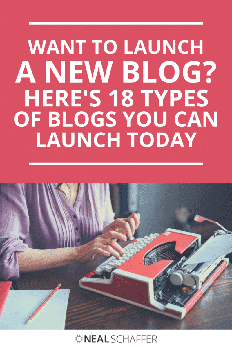 Looking to launch a blog? Check out this definitive list of 18 types of blogs ranked in descending order of popularity.