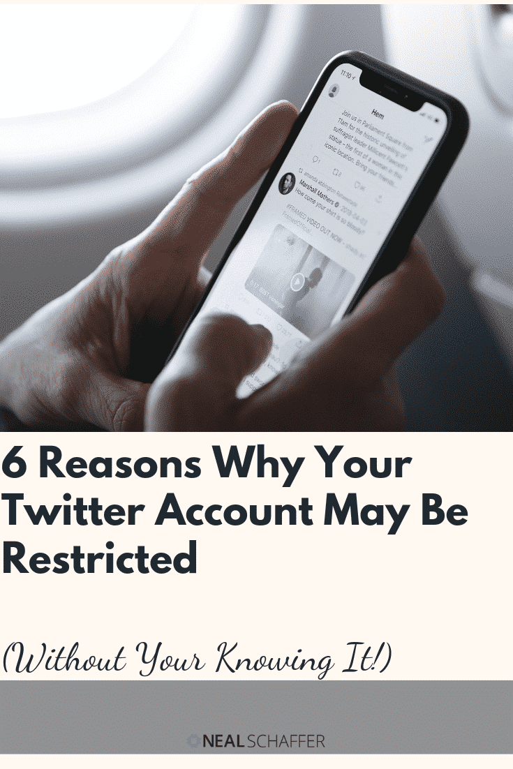 Is your Twitter account restricted? Here's why it might be without your realizing - espcially if you use programs to completely automate your activities.