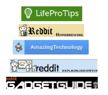 what is a subreddit subreddits examples