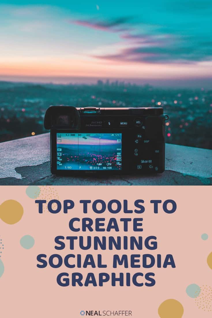 Are you using graphics in your social media posts? 7 online and mobile apps to help you create stunning social media graphics.