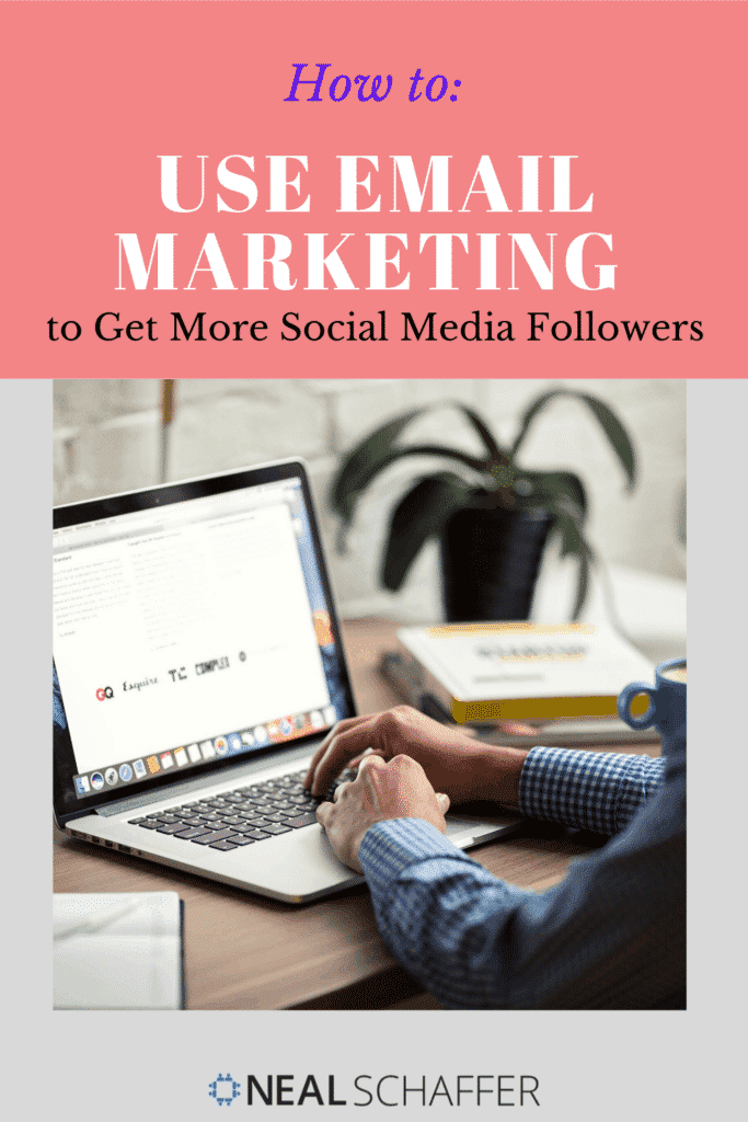 To help you get more social media followers, check out these tips for using email marketing to build your social media following.