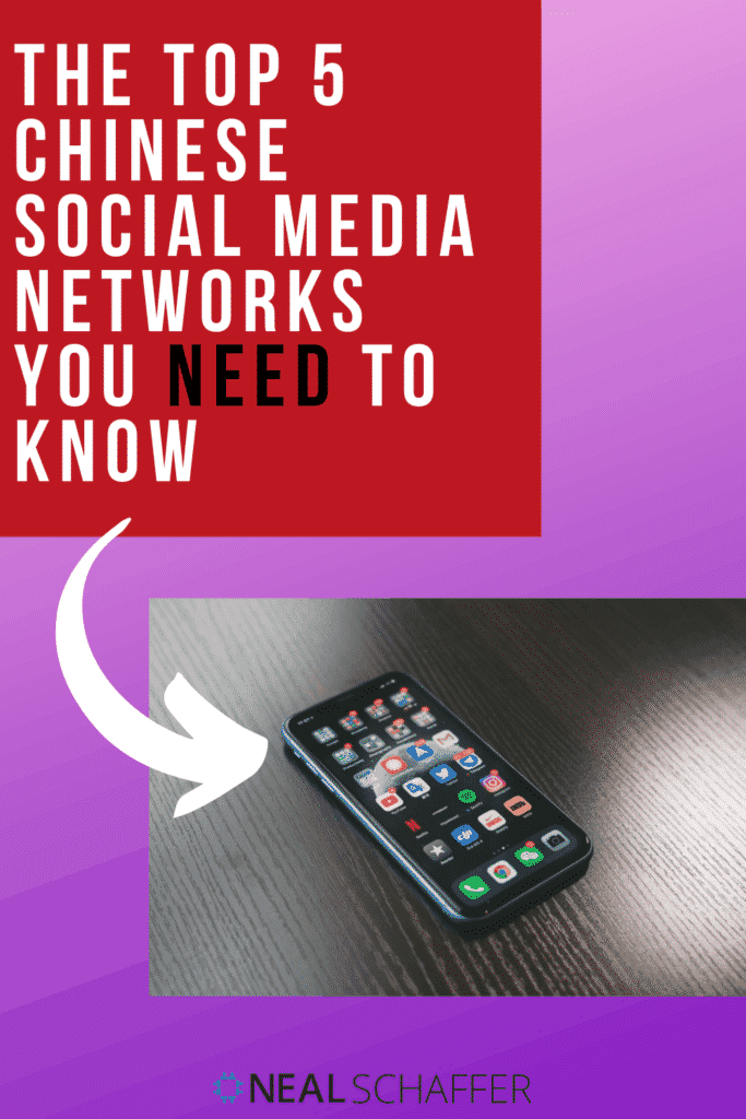 China is the country with the most social media networks and users. Looking at marketing using social media in China? Here's the top 5 social networks.