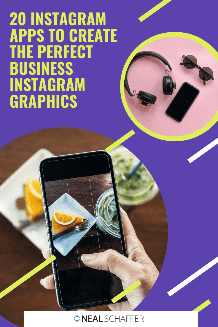 How do you create gorgeous Instagram graphics for your business? These are my favorites 20 apps to help you take the guesswork out of which one to use!