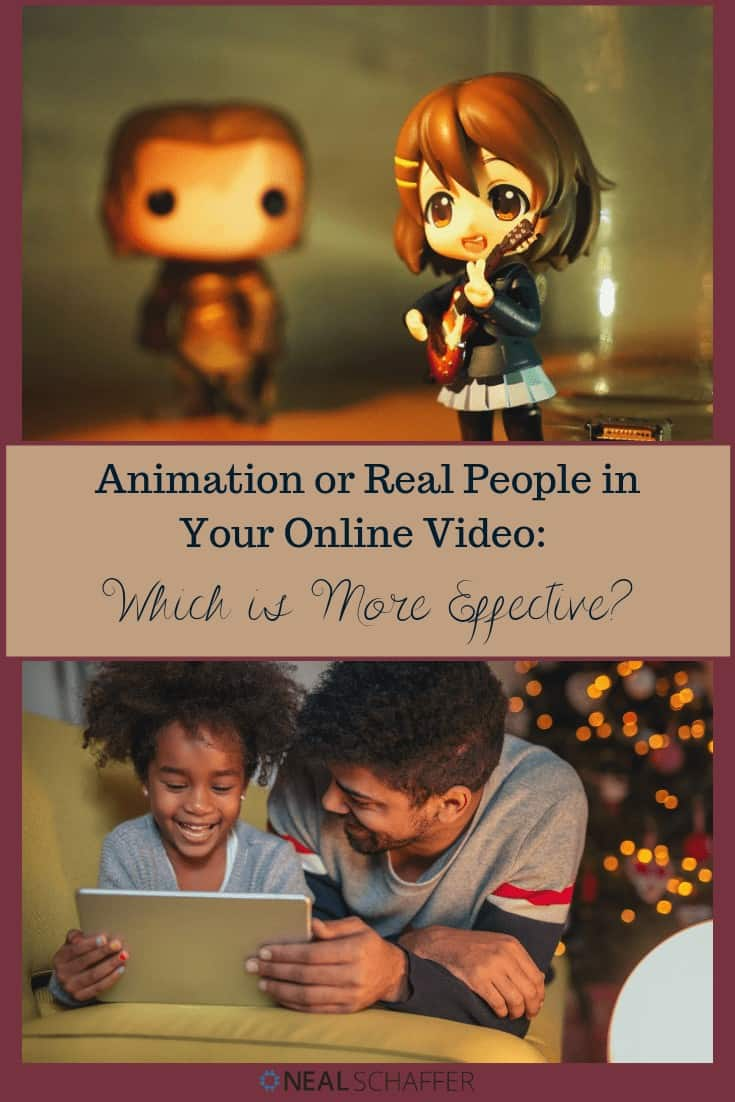 You have to create a new online video for your company, but do you use animation or real people. Read this article and find out which is best received