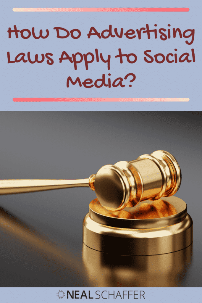 Do you advertise on social media? Did you know that advertising laws apply to you? Read this article to learn how.