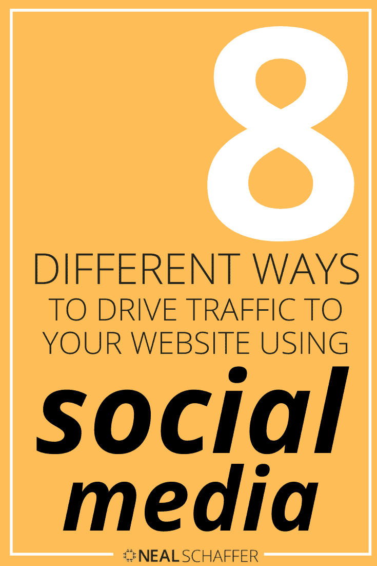 Everyone needs more website traffic. Here's how to drive traffic to your website using social media in 8 different ways explained in this article.