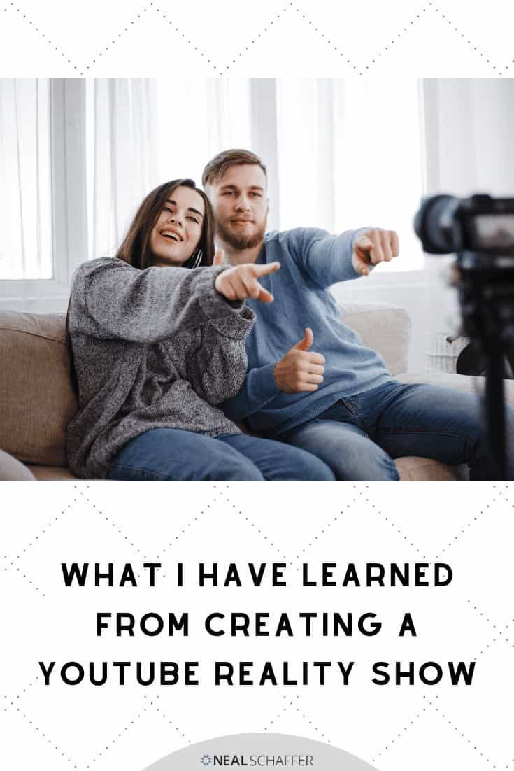 Are you using video in your marketing strategy? If you are you may want to think about creating a YouTube reality show. Learn from my missteps.