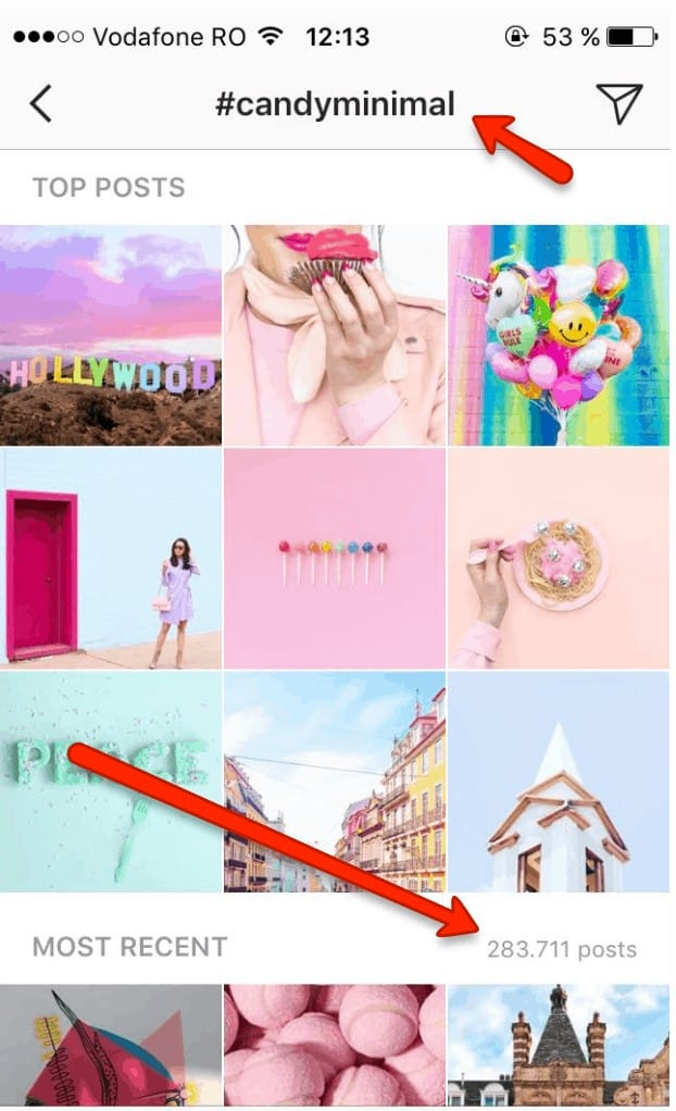 instagram success using instagram hashtags