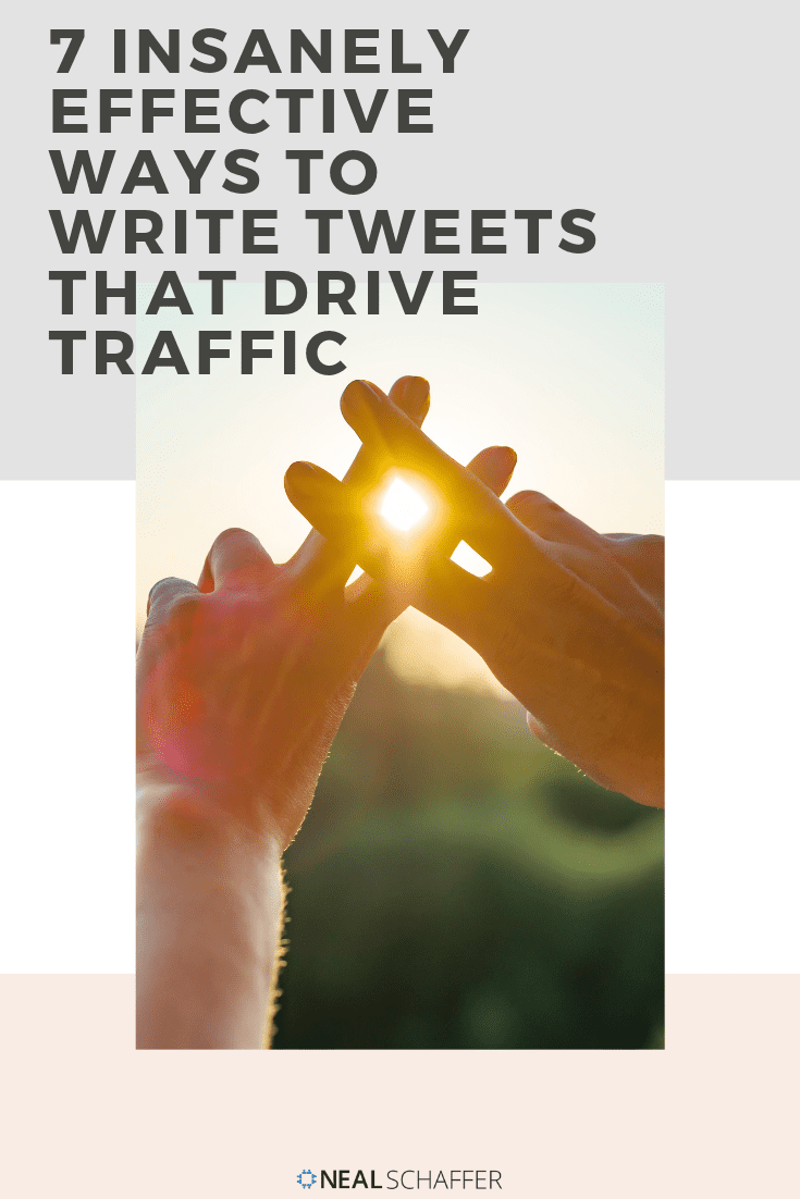 Want your tweets to drive traffic back to your website? Here are 7 effective ways to write tweets that deliver traffic to your website. Try them out!