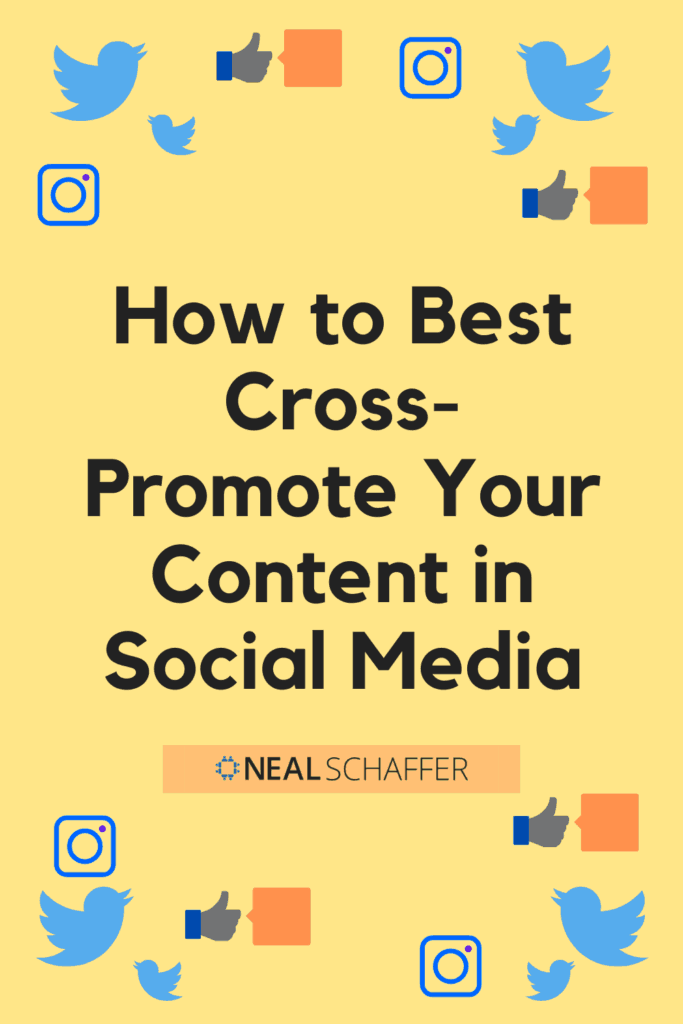 Cross promotion social media examples help combine original dialogue and automation to create more time for personal interaction.