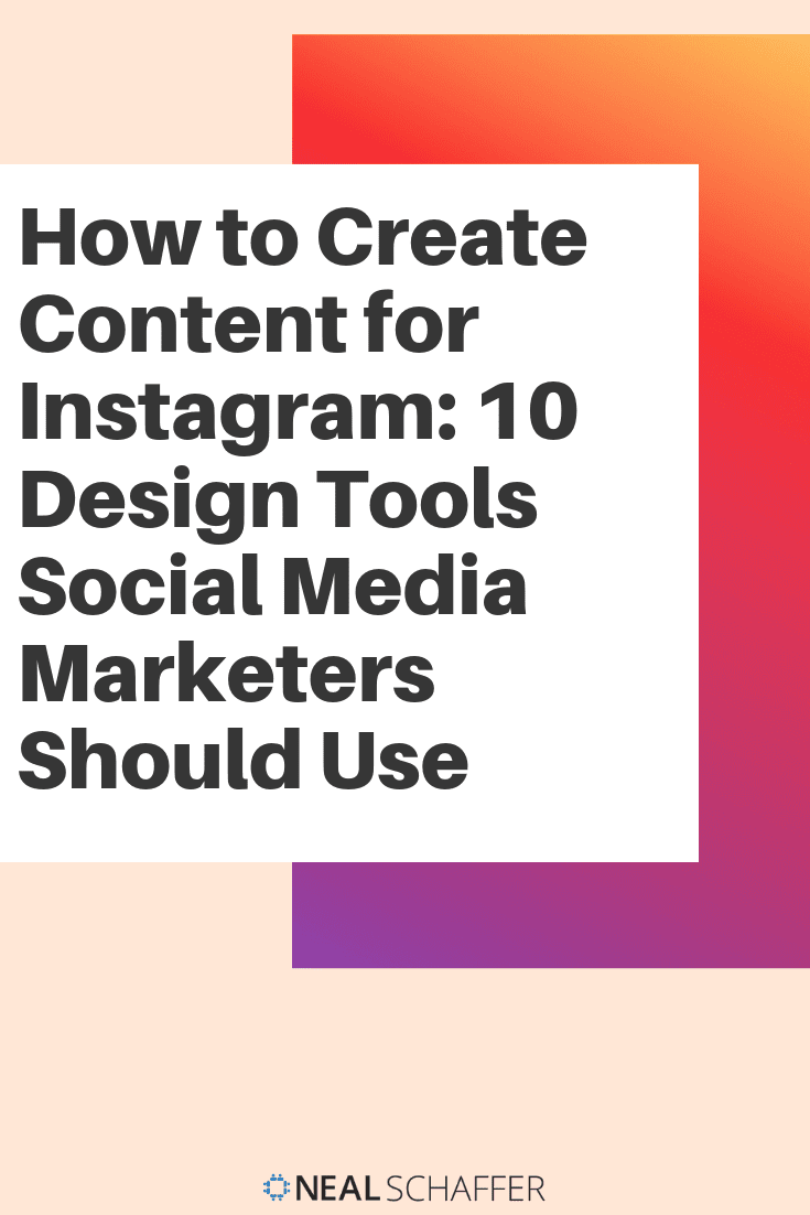 Wondering how to create content for Instagram like the pros do? Here are ten design tools to create images that will grab your audience's attention.