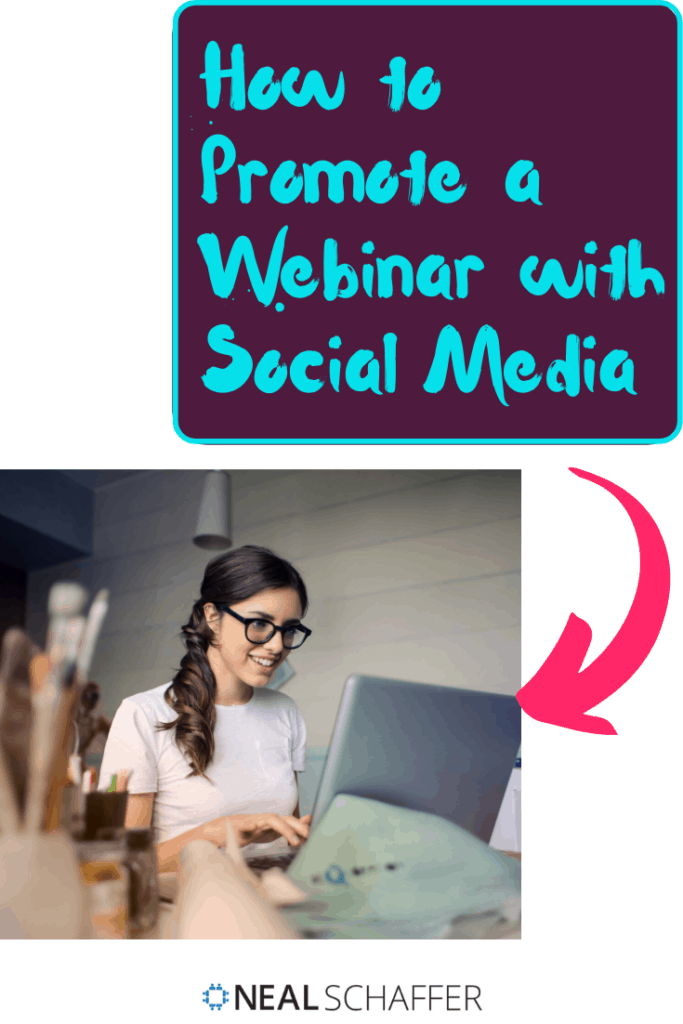 Webinars are one of the most powerful forms of content as they have a high conversion rate. Learn how to promote your webinar effectively with social media.