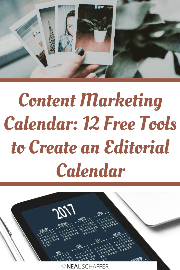 Having an editorial calendar is a must for marketing. Here's 12 tools that will make creating your editorial content marketing calendar stress-free.