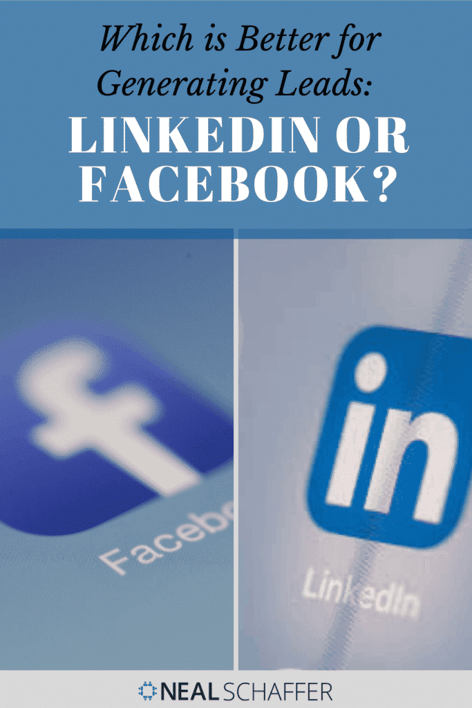 Which network is better for lead generation, LinkedIn or Facebook? Learn to use these networks to your benefit in LinkedIn vs Facebook for Lead Generation.
