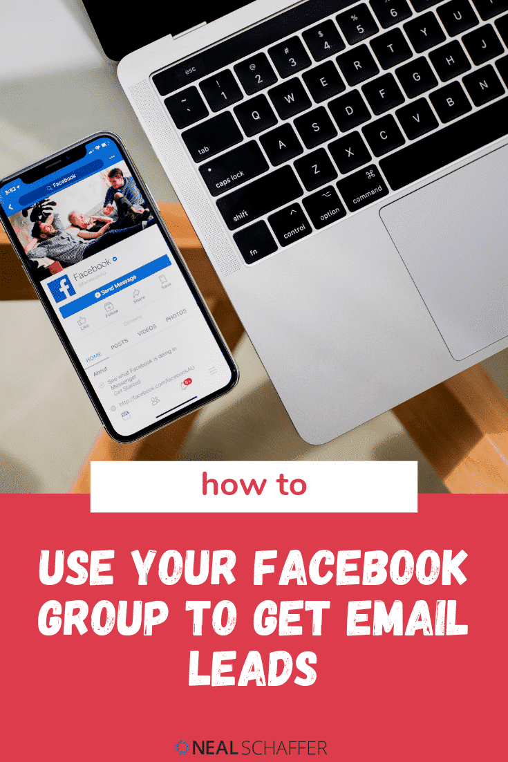 Your Facebook group is a great source of focused potential leads. Here are four strategies to implement in your group to grow your email list.