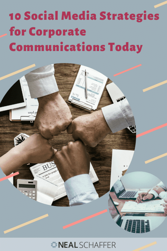 Using social media for corporate communicate can be tricky. Here are 10 corporate communication strategy ideas created just for corporate communication pros