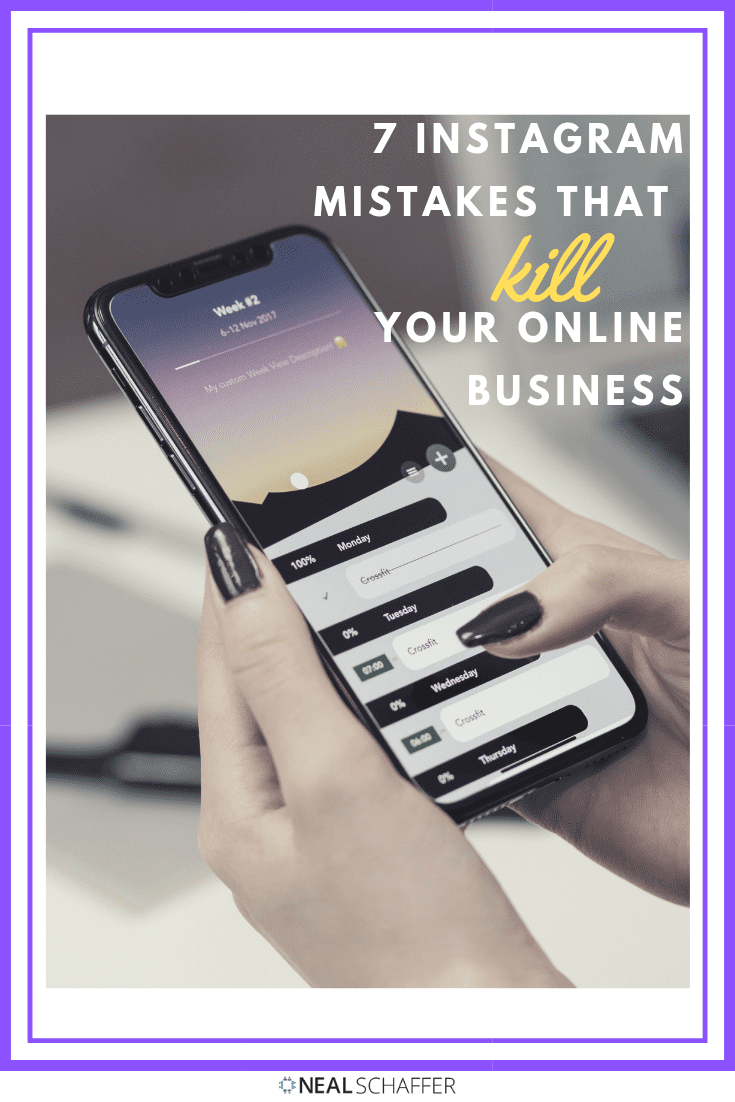 Learn the Instagram mistakes that are hurting your business without your realizing it. Includes practical advice on captions, influencers, contests and more