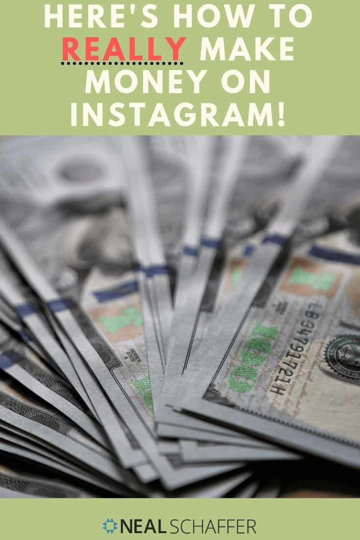 How to make money on Instagram? Let me count the ways! Check out my advice on these 9 specific ways in which you can monetize your Instagram presence.