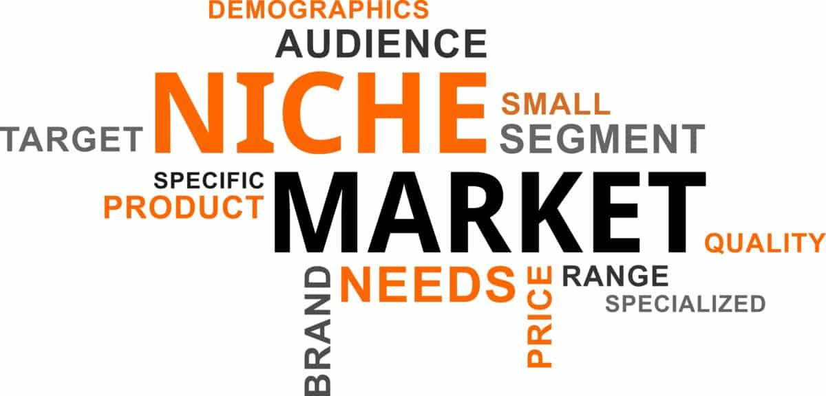 find your niche because the riches are in the niches