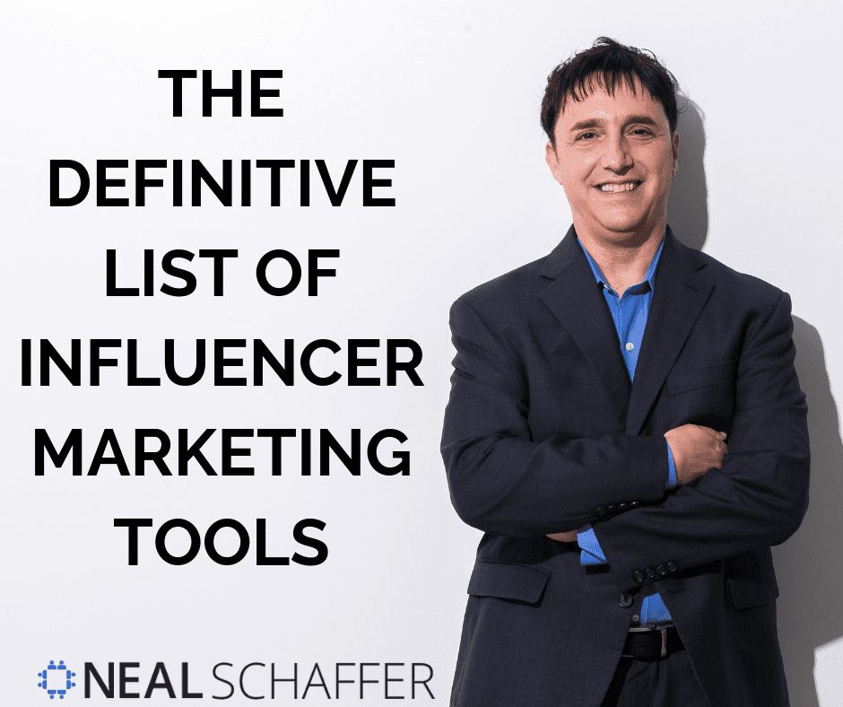 The Definitive List of Influencer Marketing Tools