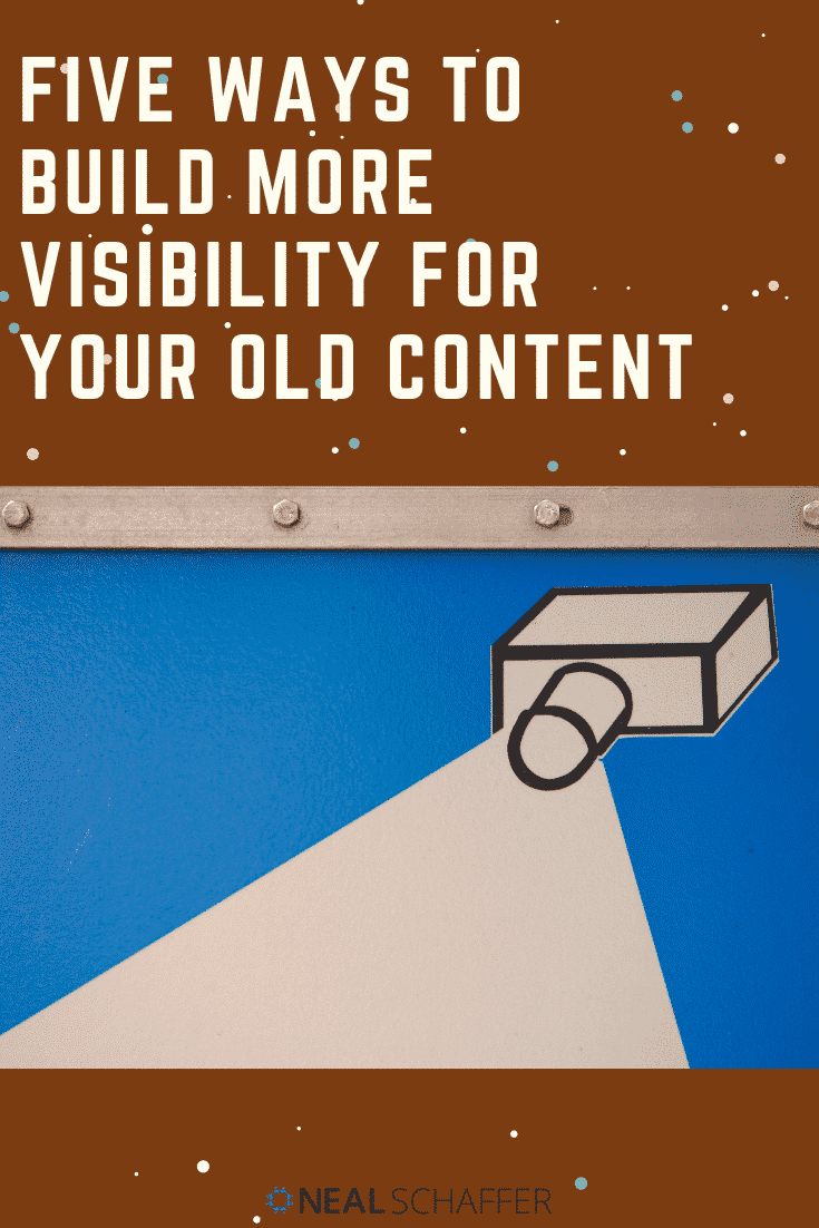 Old content managing takes time but it is well worth it! All the efforts you once put into creating and marketing those articles (even if it was years ago) deserve to be awarded now. Your old content deserves to be put into spotlight again and again for additional exposure and more visibility.