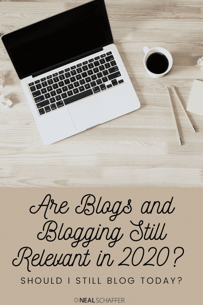 Do you blog? Does it matter? Are blogs still relevant? Learn what you need to do to keep your blog and valuable info in front of your potential customers.