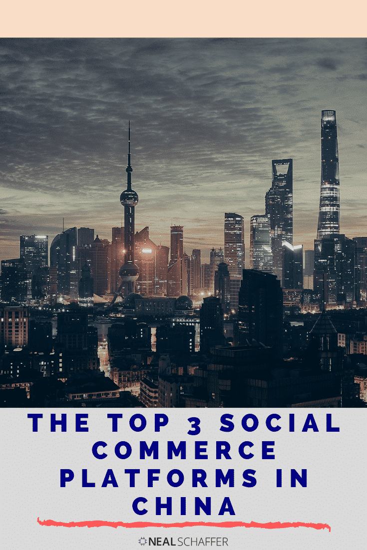 What to sell your products to the huge Chinese audience? Check out these 3 popular social commerce platforms used in China.