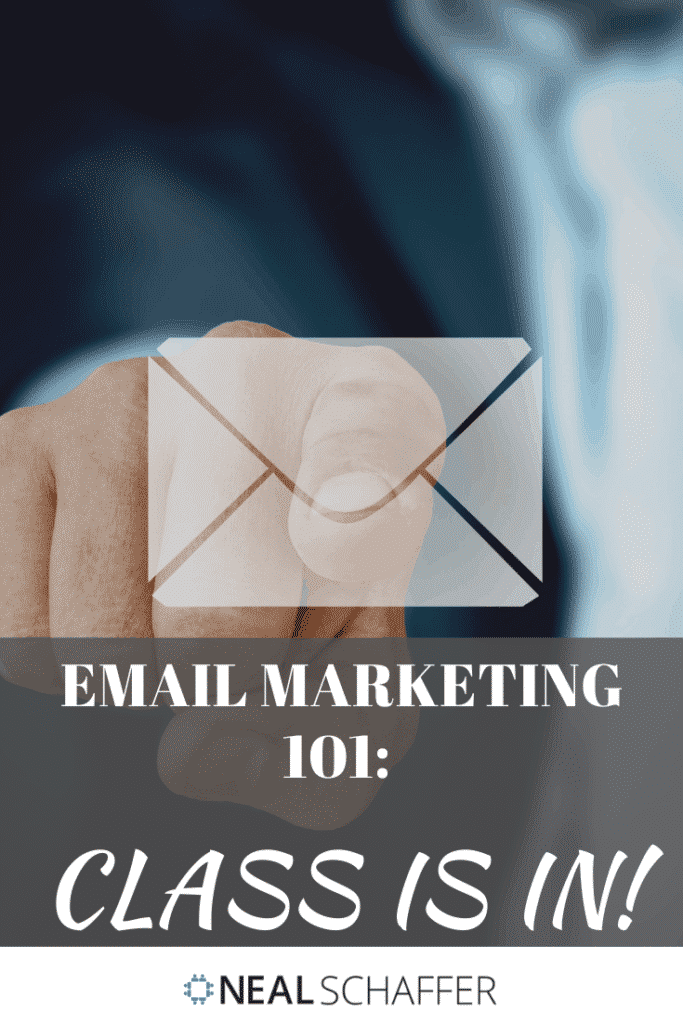 Email Marketing 101 - Class is in!