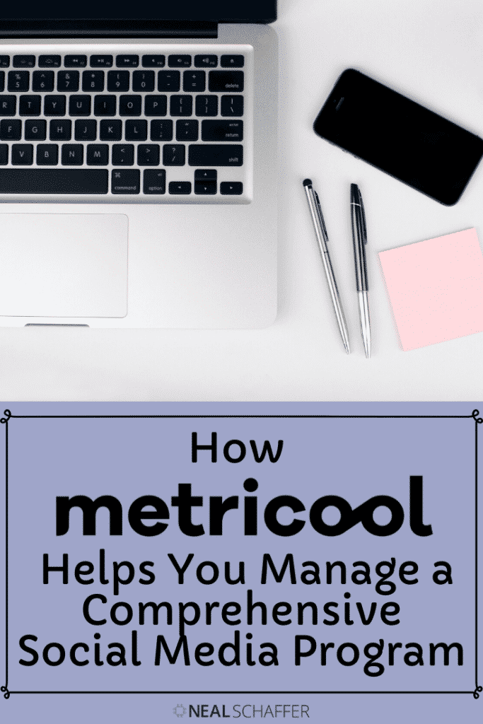 how metricool helps you manage a comprehensive social media program