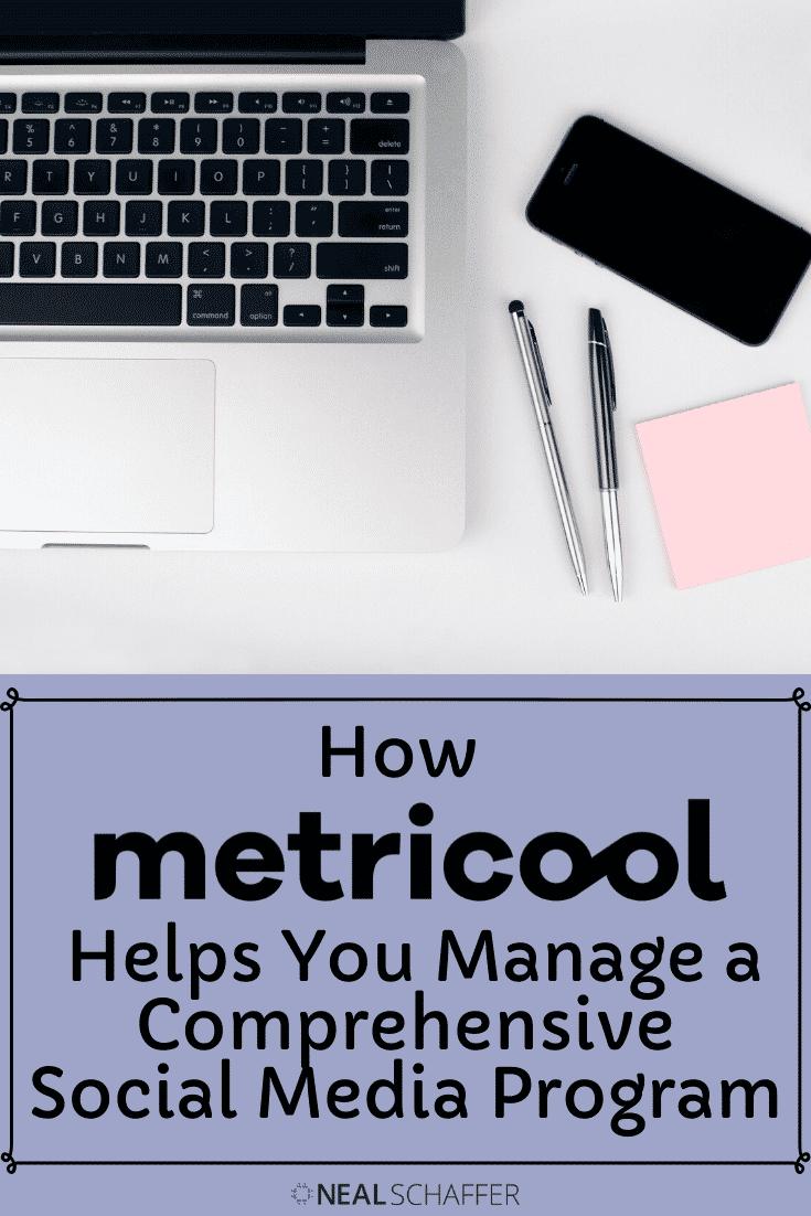 how metricool helps you manage a comprehensive social media program
