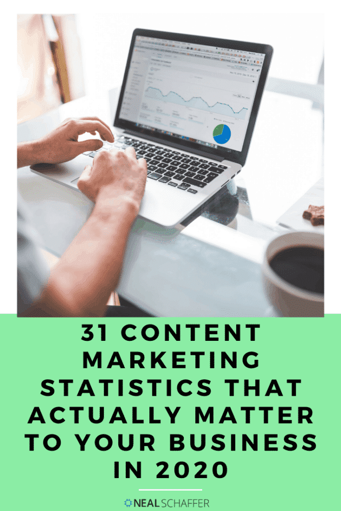 I spent time analyzing all of the content marketing statistics and curating only those that are still relevant and matter to your business.