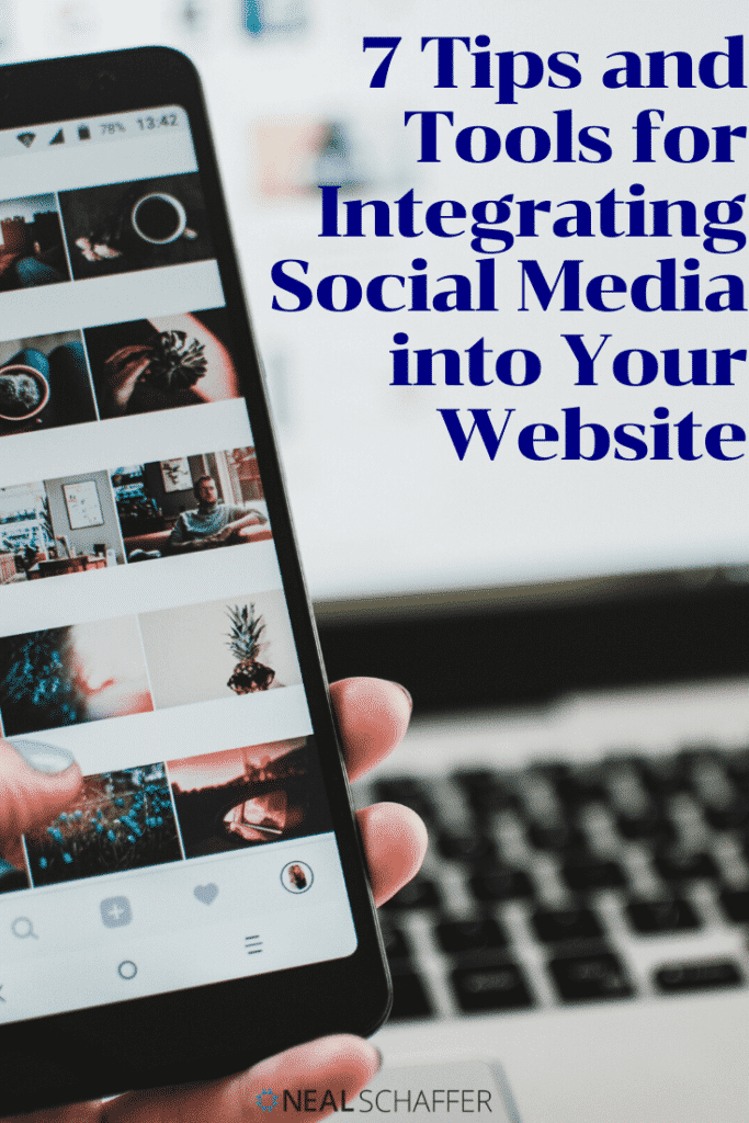 Integrating social media into your website can make your social media and online marketing easier and effective Here's 7 tips and tools to help.