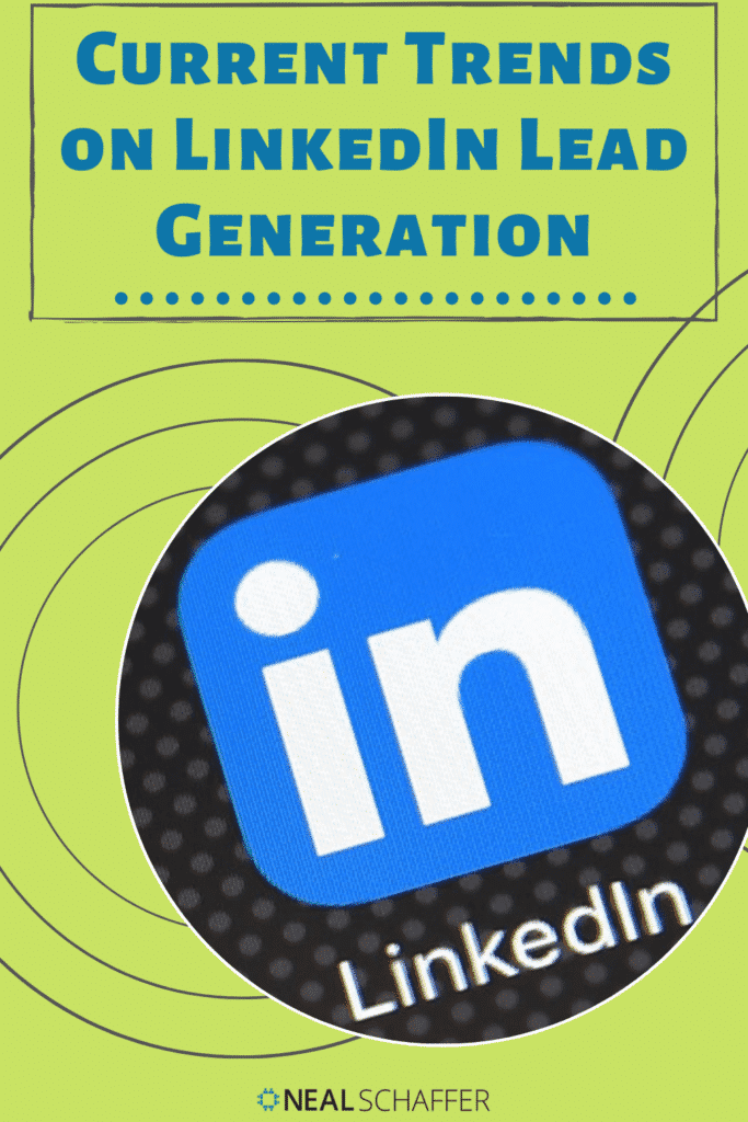 7 current trends on LinkedIn lead generation and 12 best practice tactics to help you drive more leads on LinkedIn, including this one tactic that will...