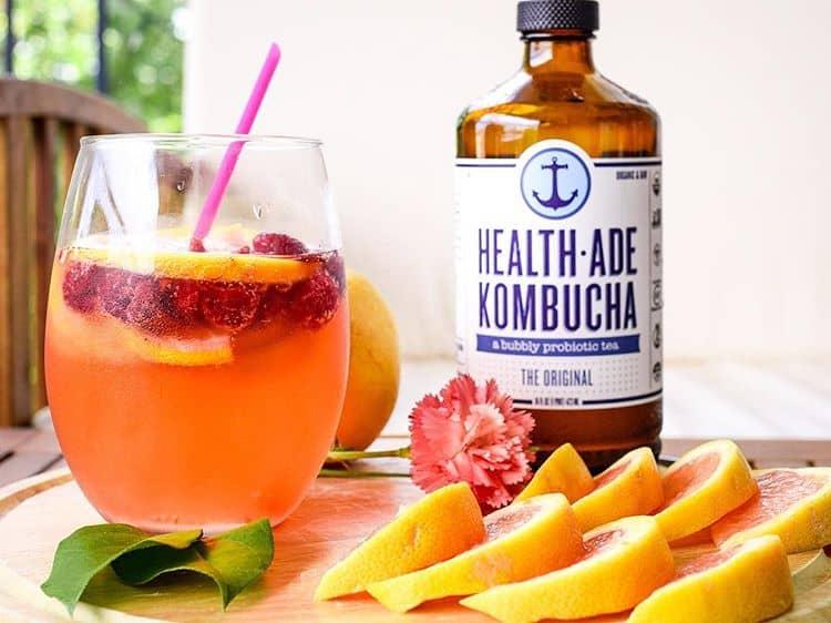health-ade kombucha @thehonestshruth micro influencer case study