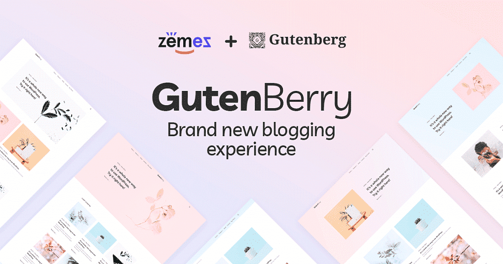 Gutenberry Blog theme