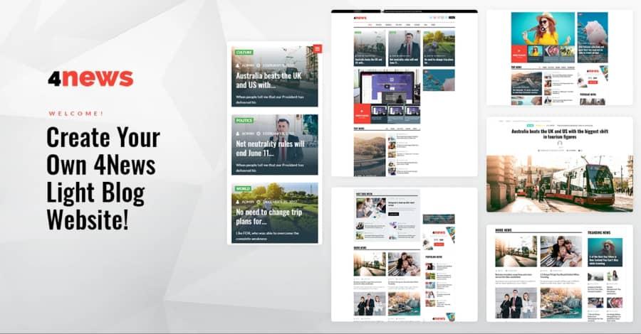 4News theme