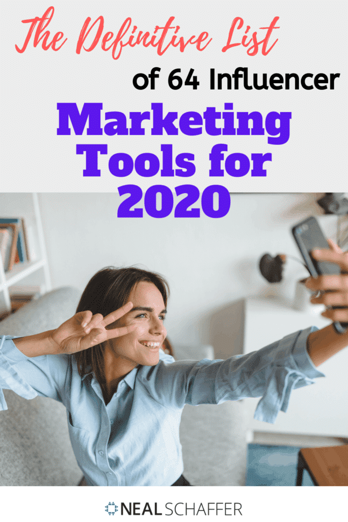 As mentioned in The Age of Influence, this is an always up-to-date definitve list of influencer marketing tools, marketplaces and agencies.
