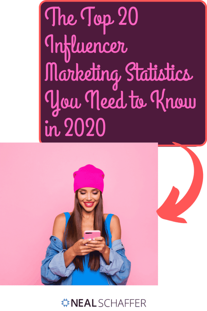 Looking to invest in influencer marketing? These are the must-have influencer marketing statistics you need to know to make smart decisions. By author Neal Schaffer...