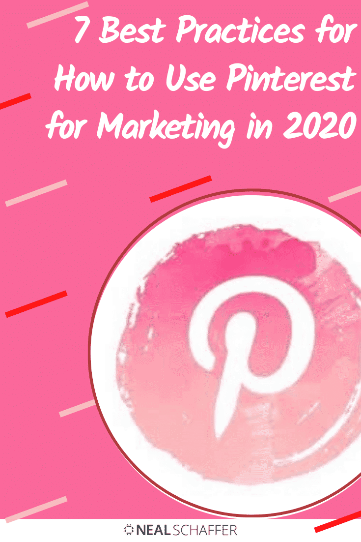 If you're trying to figure out how to use Pinterest for marketing in 2020, you need to first understand these 7 best practices, including fresh content, ...