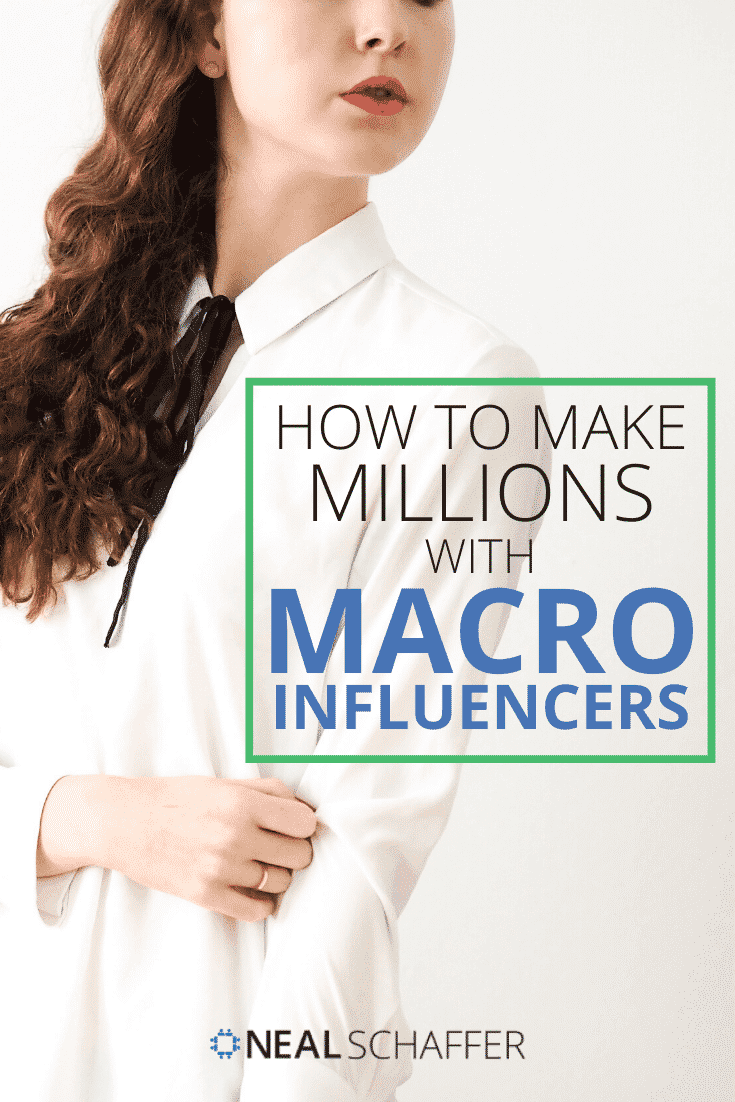 If you are looking to make millions with influencer marketing, you need to collaborate with those that actually influence millions: Macro influencers.