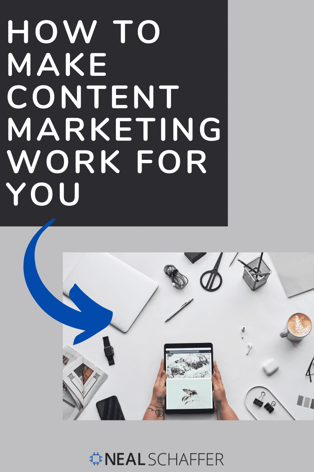 Ready to stop making content marketing just another piece work? Let's turn that around and make content marketing work for you instead!
