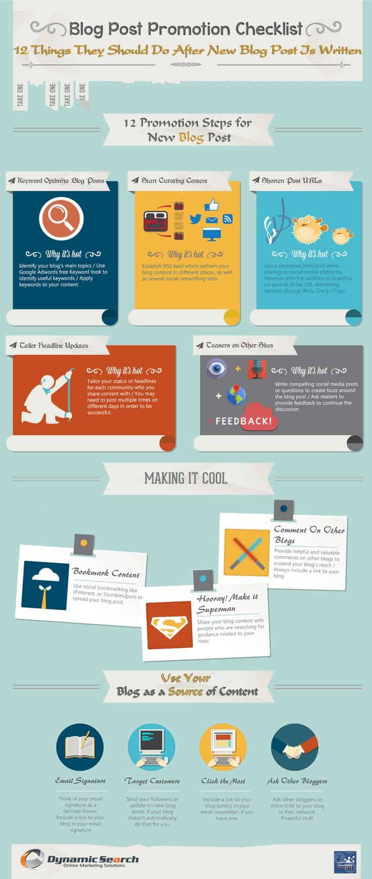 For 12 more great ideas on how to promote your blog, check out this great infographic!