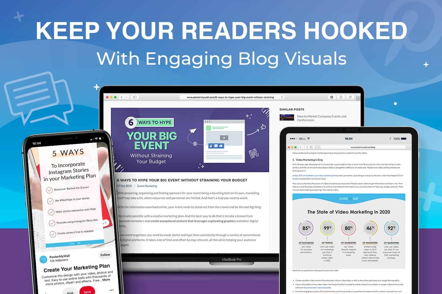 keep your readers hooked with engaging blog visuals