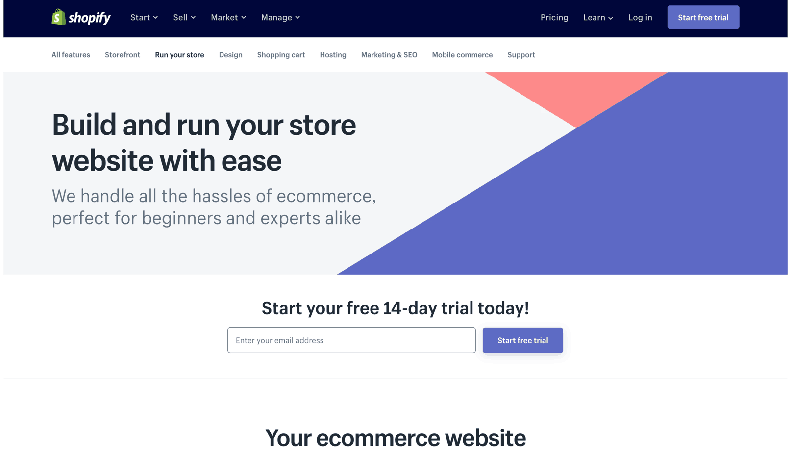 use a builder that lets you easily embed product
